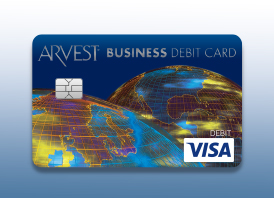 Arvest Business Debit Card from Arvest Bank