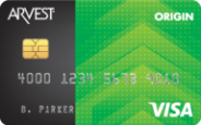 Arvest Origin credit card