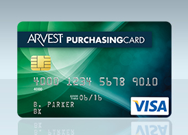 Arvest Bank Purchasing Card from Arvest Bank