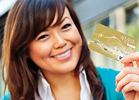 Visa Gold Credit Card from Arvest Bank