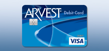 Debit Cards from Arvest Bank.