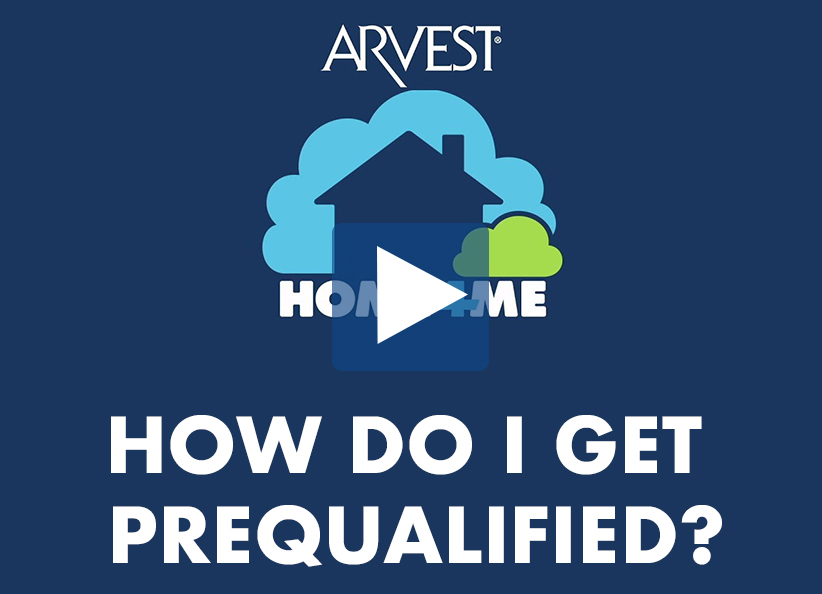 Mortgage Pre-Qualification at Arvest Bank