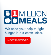 Help fight hunger with Arvest's 1 Million Meals campaign.