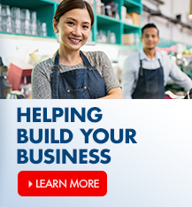 Helping build your business! Ask an assocaite about our small business loans.