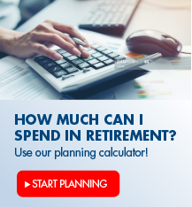 How much can I spend in retirement? Use our planning calculator!