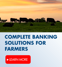 Check out our complete banking solutions for farmers.