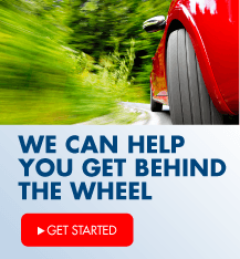 We can help you get behind the wheel.  Find the financing that's right for you.