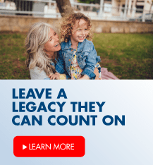 Leave a legacy they can count on.  Learn more about professional management of your investments.
