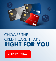 Choose the credit card that's right for you.  Enjoy low interest rates and apply now.