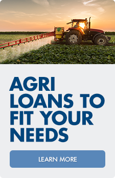 We have agri loans to fit your needs. Speak with one of our lenders today.