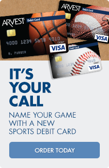 It's your call: name your game with a new sports debit card design, like basketball! Order today
