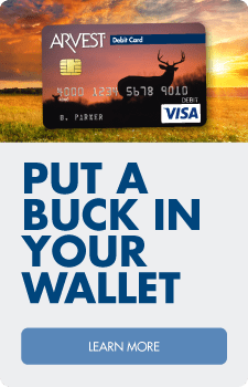 The beauty of nature in your wallet.  Find the perfect debit card design for you.