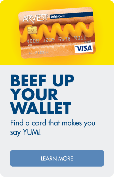 Find a debit card that makes you say YUM!