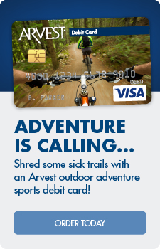 Adventure is calling!  Check out these outdoor adventure sports debit cards.