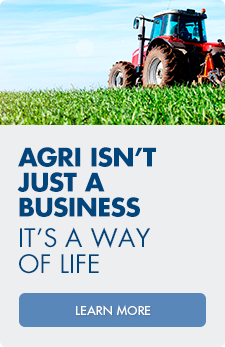 Agri isn't just a business. It's a way of life. Visit with one of our lenders today to learn more.