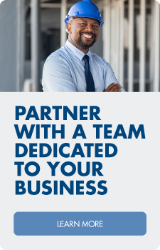 Partner with a team dedicated to your business.