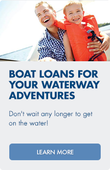 Learn more about our boat loans for your waterway adventures.