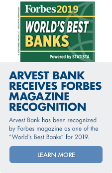 Learn more about how Arvest Bank recieved Forbes Magazine recognition as one of the