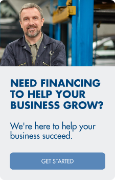 Need financing to help your business grow? We're here to help your business succeed.