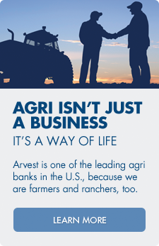 Apply for an agricultural loan with Arvest Bank.