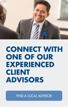 Connect with one of our experienced client advisors in your area.