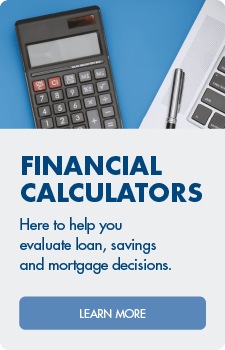Use our calculators to help you research banking, borrowing and savings decisions.