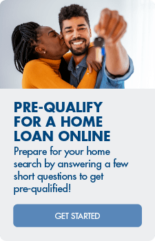 Prepare for your home search by answering a few short questions to get pre-qualified!