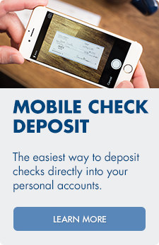 Arvest Bank offers a mobile check deposit service so you can use your mobile device to deposit checks easily.