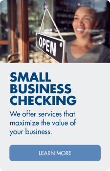 Convenient checking features for your small business.