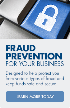 Protect your business against fraud with Arvest's fraud prevention assistance.