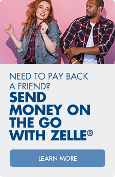 Learn more about how you can send money on the go with Zelle®!