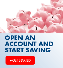 Ready to create an emergency fund?  Earn interest and get free online banking with an Arvest savings account.