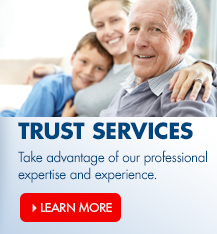 Arvest Bank's Wealth Management division offers a full range of trust and estate services.