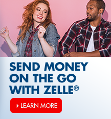 Learn more about how you can send money on the go with Zelle<sup>®</sup>!