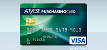 Arvest Corporate Purchasing Card
