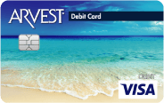 Pick the perfect debit card from Arvest's wide selection of designs.