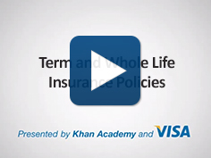 Term and Whole Life Insurance Policies (14:40)