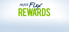 Credit Card Rewards program, Arvest Bank Rewards