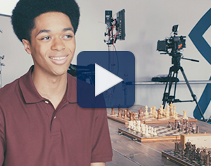 Watch expert chess player James Toliver share how he understands where all the pieces go in this video.