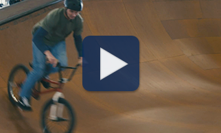 Watch expert BMX rider Atom Baker share the thrill of riding every day in this video.