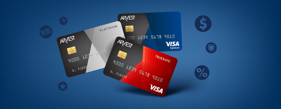 Arvest Flex Rewards™ Credit Card
